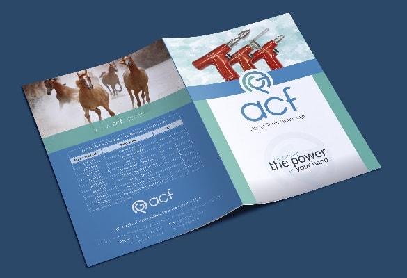 ACF MEDİKAL | Broşür Tasarımı