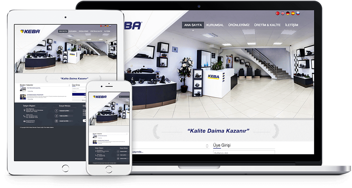 KEBA | Web Tasarım