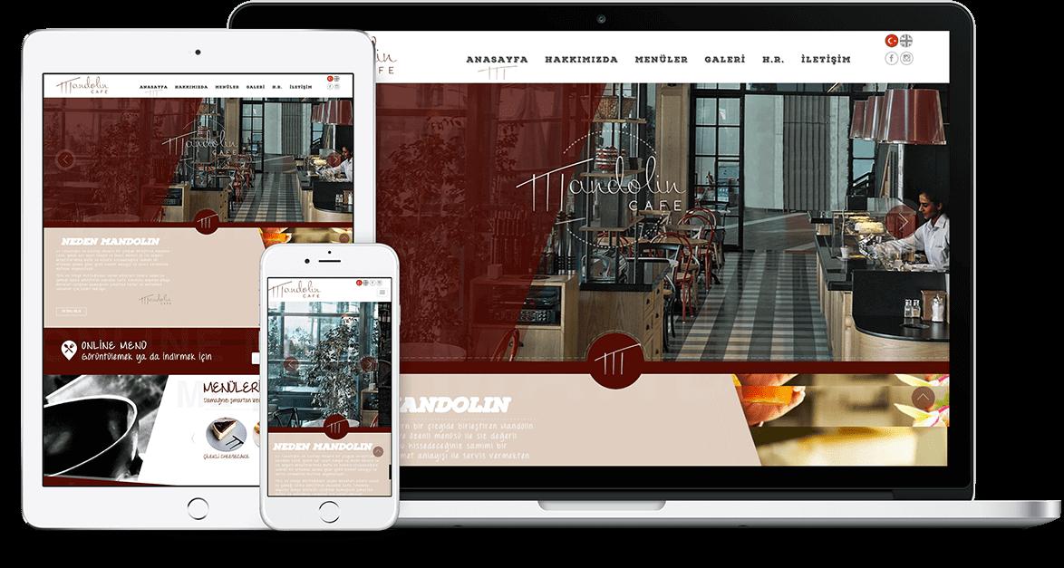 MANDOLİN CAFE | Web Tasarım