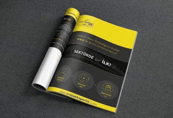 ARABA EKSPERTİZ   Broşür Tasarımı