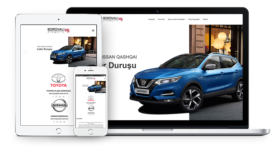 Borovalı Otomotiv | Web Tasarım