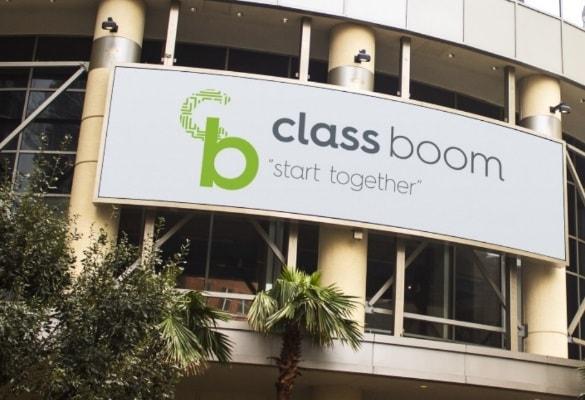 CLASS BOOM   Logo Tasarım