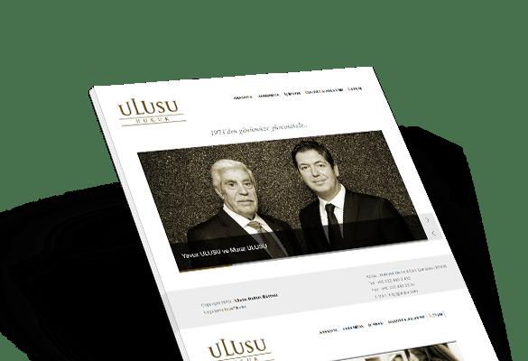 ULUSU HUKUK BÜROSU | Web Tasarım