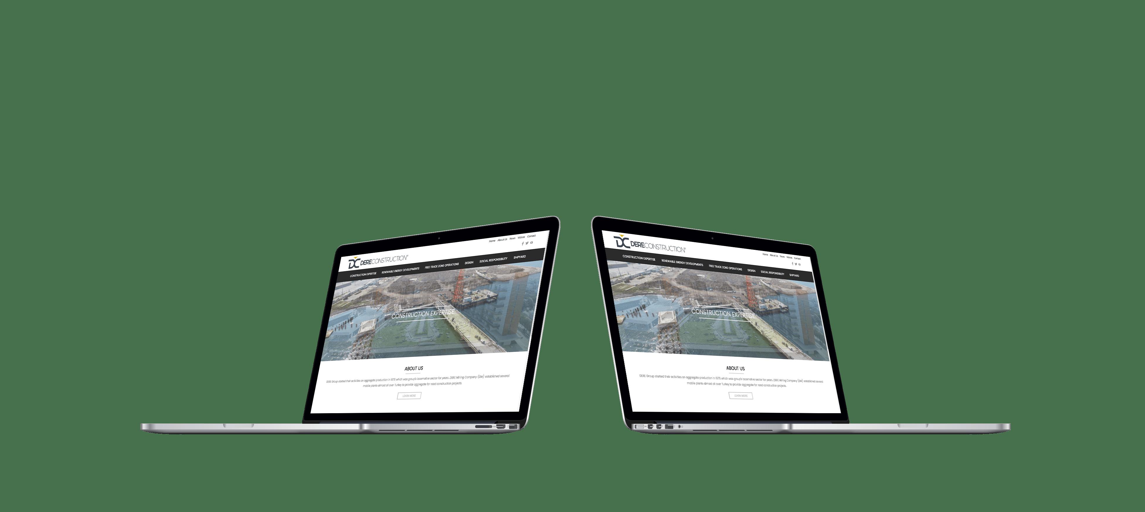 Dere Construction | Web Tasarım