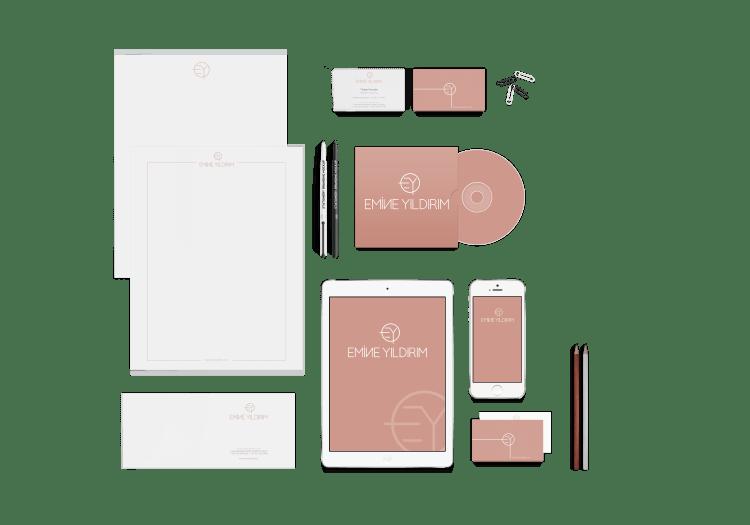 EMİNE YILDIRIM | Kurumsal Kimlik Tasarımı