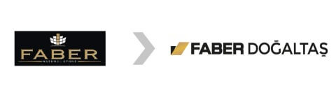 FABER DOĞALTAŞ | Logo Tasarım