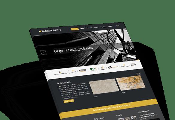 FABER DOĞALTAŞ | Web Tasarım