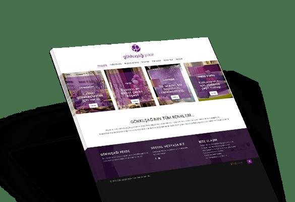 GÖKKUŞAĞI PERDE | Web Tasarım