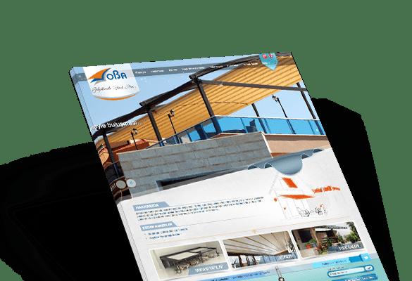 OBA TENTE | Web Tasarım