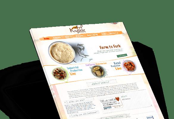 KYBELE FINE FOODS | Web Tasarım