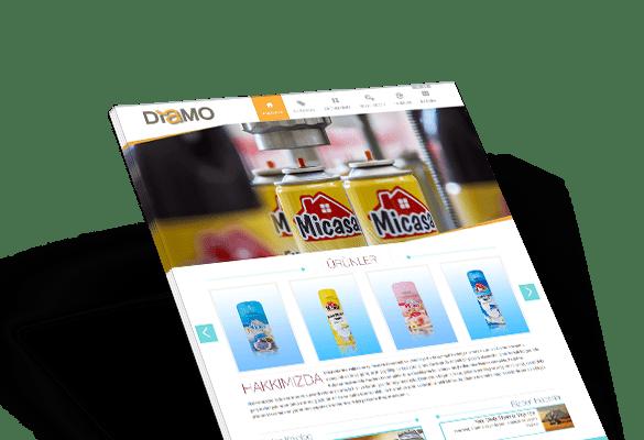 DİAMO COSMETIC | Web Tasarım
