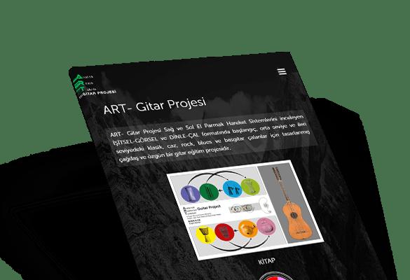 ART- GİTAR PROJESİ | Web Tasarım