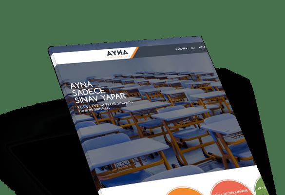 AYNA SINAV ATÖLYESİ | Web Tasarım