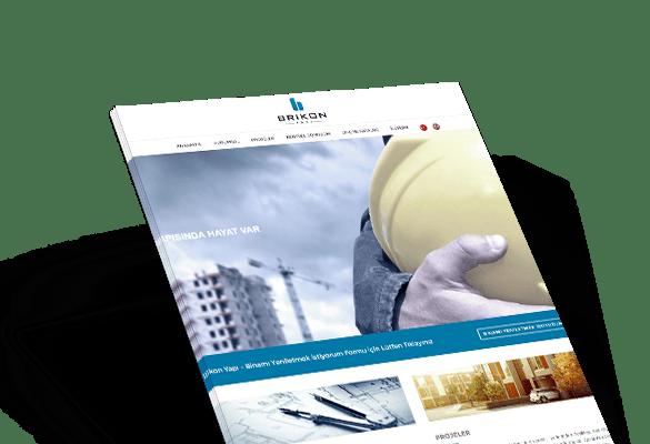 BRİKON YAPI | Web Tasarım