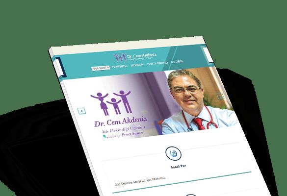 DR. CEM AKDENİZ | Web Tasarım