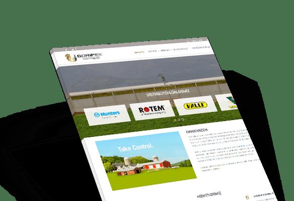 GÜRİPEK | Web Tasarım
