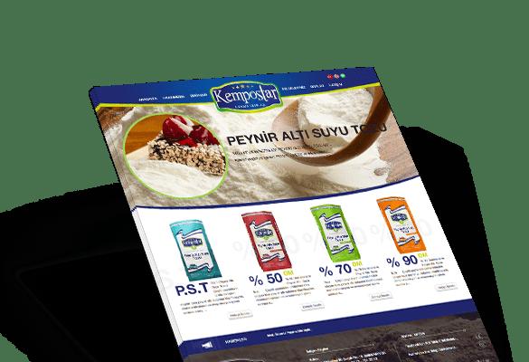 KEMPOSTAR | Web Tasarım
