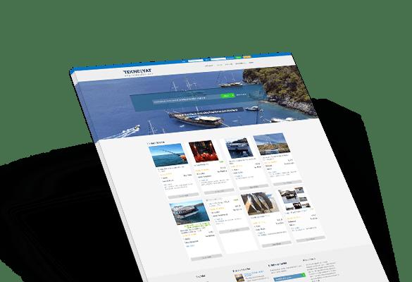 TEKNE&YAT | Web Tasarım
