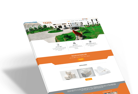 TEZOL KAĞIT | Web Tasarım