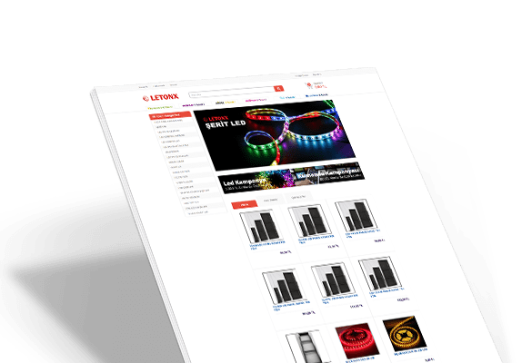 LETONX | Web Tasarım