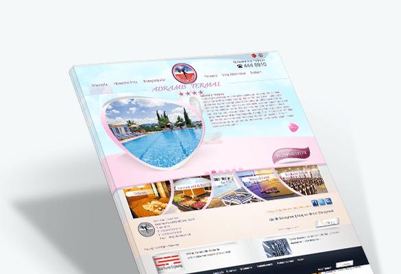 ADRAMİS TERMAL HOTEL | Web Tasarım