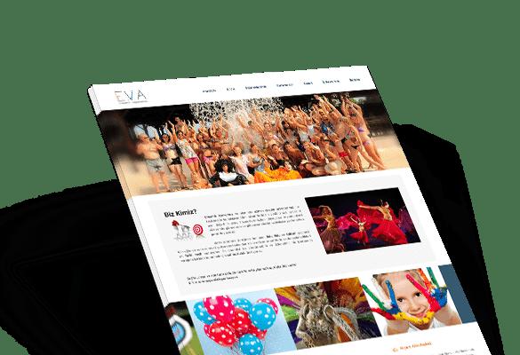 E.V.A | Web Tasarım