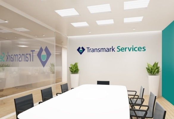 TRANSMARK SERVICES   Logo Tasarım