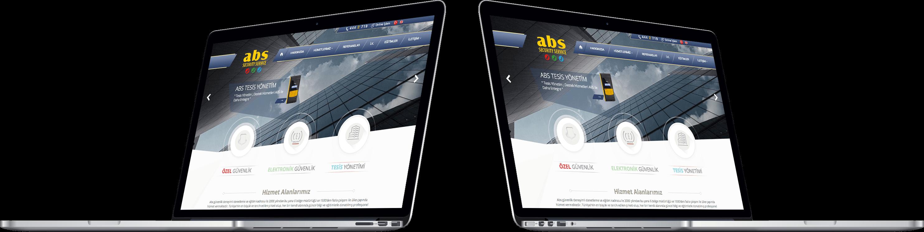 ABS GÜVENLİK | Web Tasarım