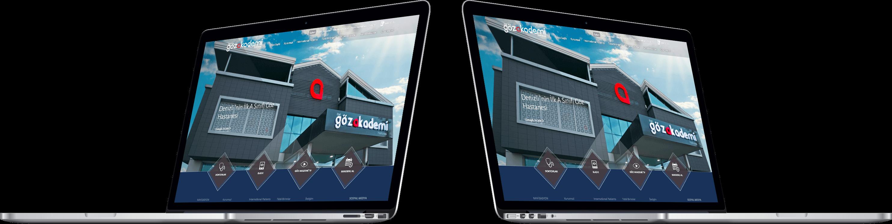 ÖZEL GÖZAKADEMİ HASTANESİ | Web Tasarım